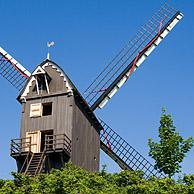 South dunes mill / South abbey mill at Coxyde, Belgium