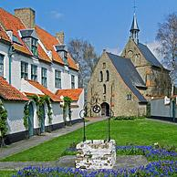 Beguinage of Diksmuide, Belgium
