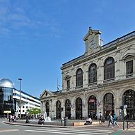 The railway station Gare de Lille-Flandres at Lille, France
