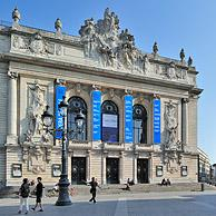 The Opéra de Lille, a theater-style neo-classical opera house at Lille, France