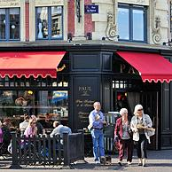 The famous bakery and pastry shop Patisserie Paul in Lille, France